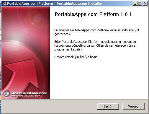 Portable Apps Platform – Flash Diske Sığan Bilgisayar | AÇIK